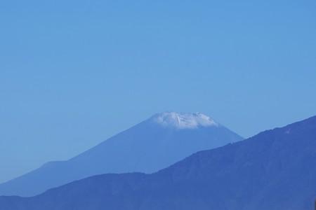 2016.10.26 駅前 富士山 初冠雪