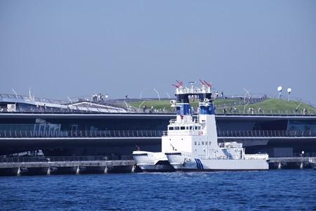 2016.10.26 大さん橋 海上保安庁の消防船 ひりゅう
