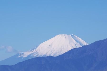 2016.12.08 駅前 富士山