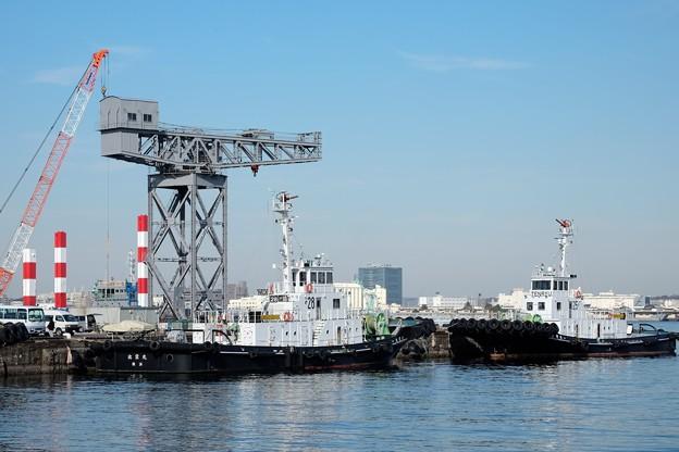 2016.12.19 MARINE&WALK YOKOHAMA Craneのある風景