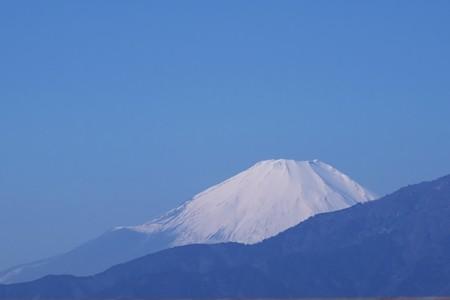 2017.02.04 駅前 富士山