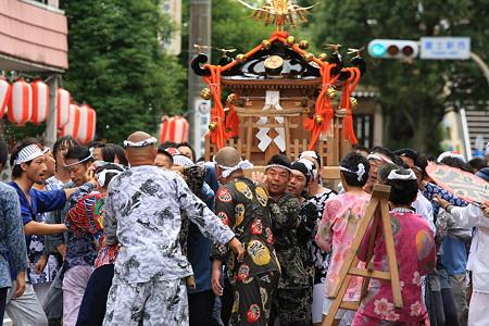 2010.08.08 富士市 甲子祭 神輿