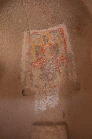 2011.01.25 トルコ カッパドキア ゼルベの谷 協会 フレスコ画
