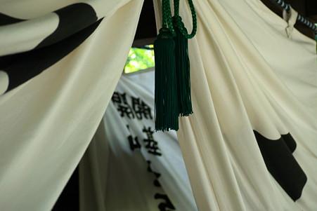 2011.08.09 北鎌倉 円覚寺 如意庵 門幕