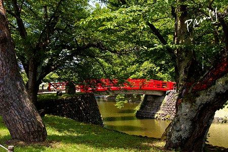 菱門橋(米沢城跡お堀端) 米沢 上杉神社 11