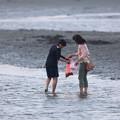 東京の海辺で大漁