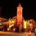 夜の開港記念館