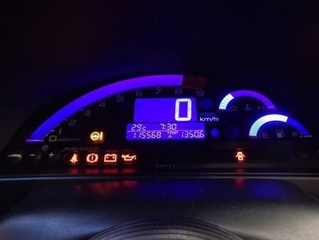 S2000 石川県 メーターブループレート取付