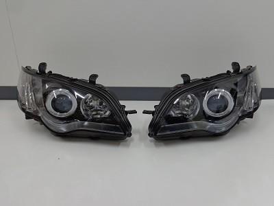 レガシィBP5 福岡県 ヘッドライトインナーブラックアウト400