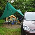 写真: 有野実苑キャンプ場