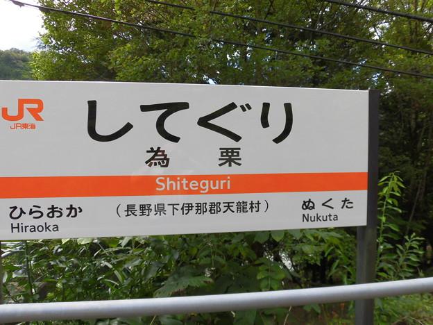 為栗(してぐり)駅