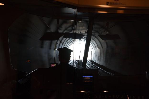 トンネルを出る伊勢志摩ライナー