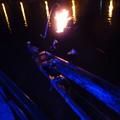 日田温泉 ひなの里山陽館 屋形船で鵜飼い観賞
