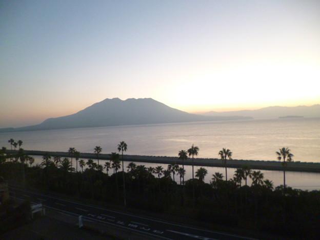 Photos: ホテルウェルビューかごしま 部屋からの眺望
