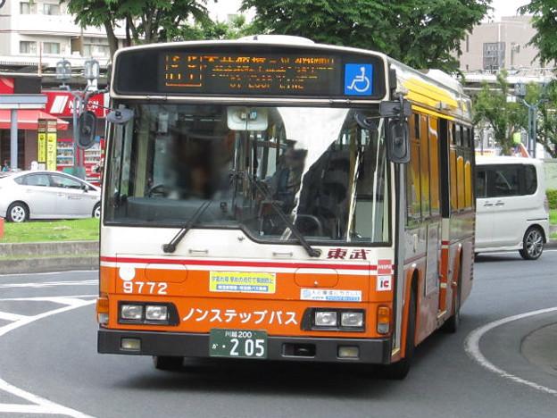 【東武バス】 9772号車
