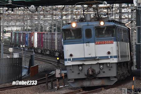 79レ EF652083+コキ