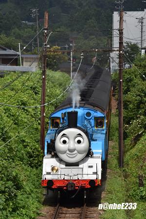 1004レ SLトーマス号 トーマス(C11 227)+旧客7B+ED501(いぶき)