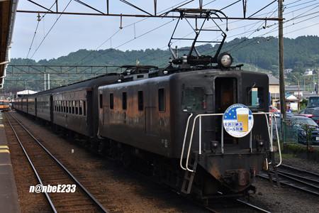 「大井川納涼 ビール列車」E101+ オハフ33 215+ナロ80 2+ナロ801+スイテ82 1