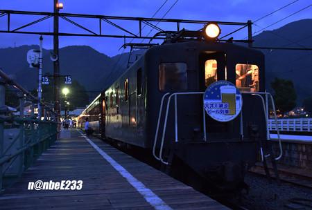 「大井川納涼 ビール列車」E101+スイテ82 1+ナロ801+ナロ80 2+ オハフ33 215