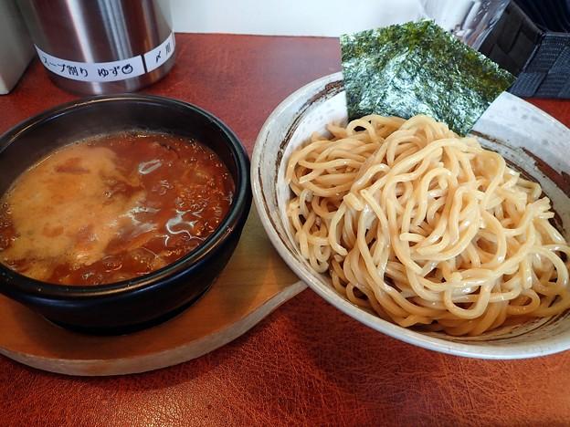 辛つけ麺・ハード・大盛@うまづら・岩沼市