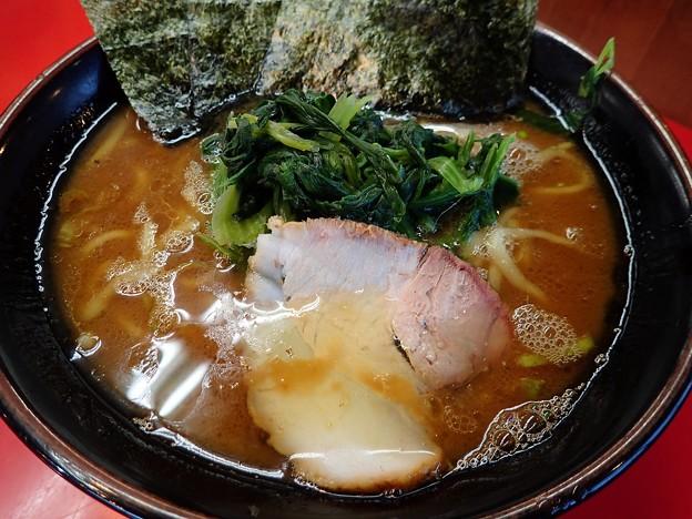 ラーメン(醤油)・油多め@とんこつ家鹿島店・いわき市