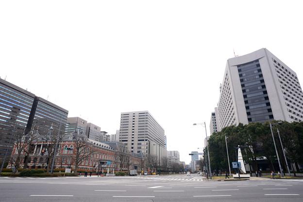 Photos: 法務省と警視庁本部