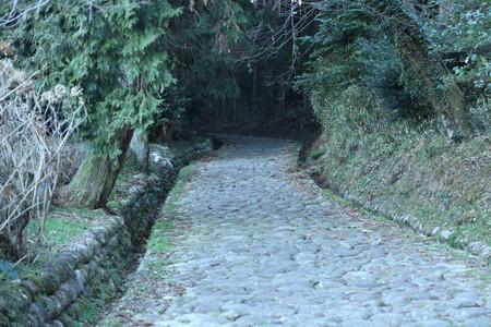 旧東海道・金谷坂の石畳