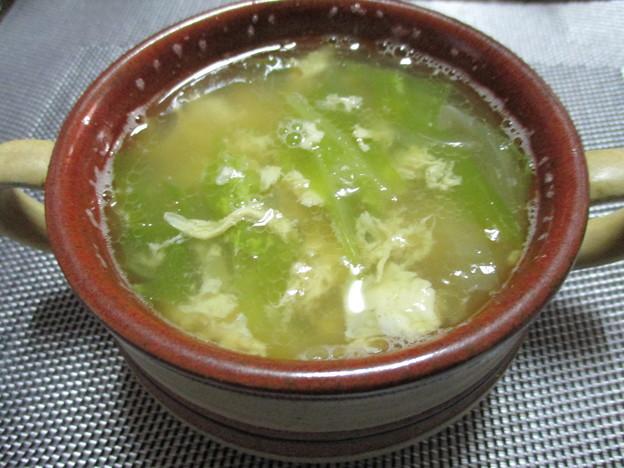 写真: スープ