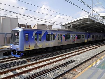 横浜高速鉄道Y500系(赤レンガ倉庫開館15周年ラッピング車)