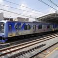 写真: 横浜高速鉄道Y500系(赤レンガ倉庫開館15周年ラッピング車)