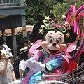 写真: 七夕パレードのミニー