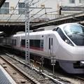 E657系K1編成特急ときわ61号上野8番発車