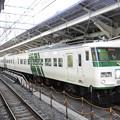 185系A3編成3721M湘南ライナー1号東京発車前