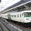 Photos: 185系A3編成3721M湘南ライナー1号東京発車前