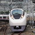 特急ときわ60号終着上野17番入線 E657系K11編成