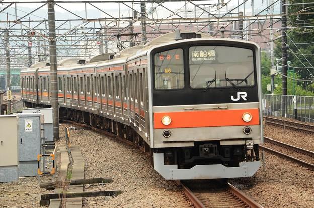 武蔵野線205系M6編成南船橋行き