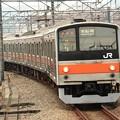 写真: 武蔵野線205系M6編成南船橋行き