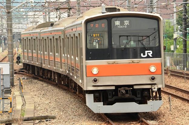 写真: 武蔵野線205系M11編成東京行き
