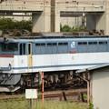 Photos: EF65 2096貫通扉開放