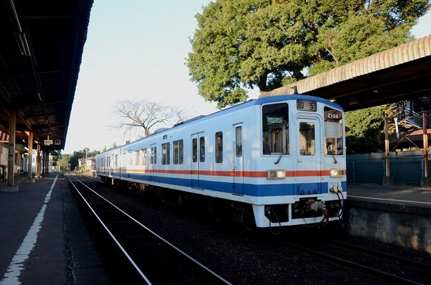 関東鉄道キハ2100形取手行き小絹停車
