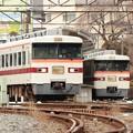 東武350系の並び