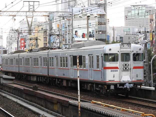 山陽電鉄3000系三ノ宮折り返し普通姫路行き