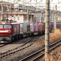 写真: 金太郎33号機牽引高速貨物3050レ宇都宮貨物(タ)3番入線