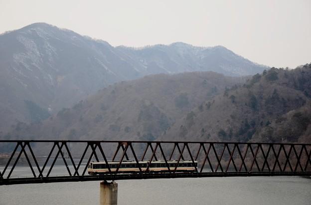 野岩鉄道湯西川橋梁