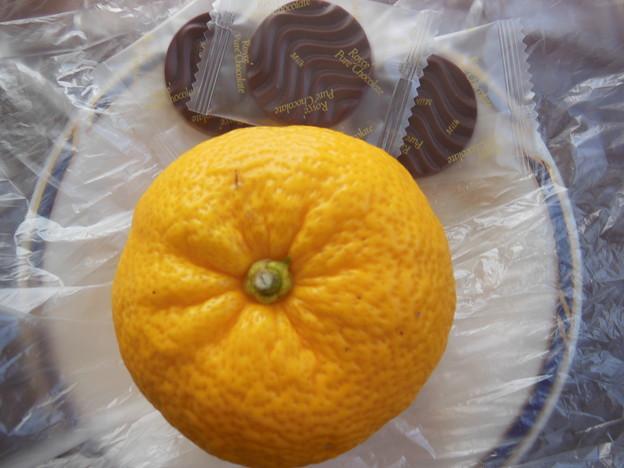 柚子とチョコレート