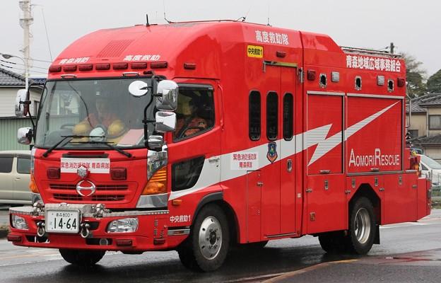 青森県青森地域広域事務組合消防本部 lll型救助工作車