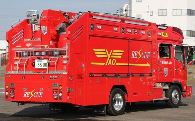 大阪府八尾市消防本部 ll型救助工作車(後部)