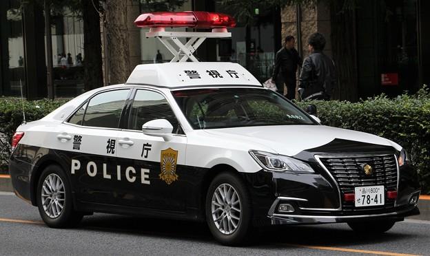 警視庁 警邏パトロールカー