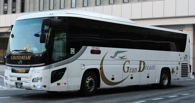 JRバス関東 夜行高速バス「グランドリーム号」(ハイデッカー)