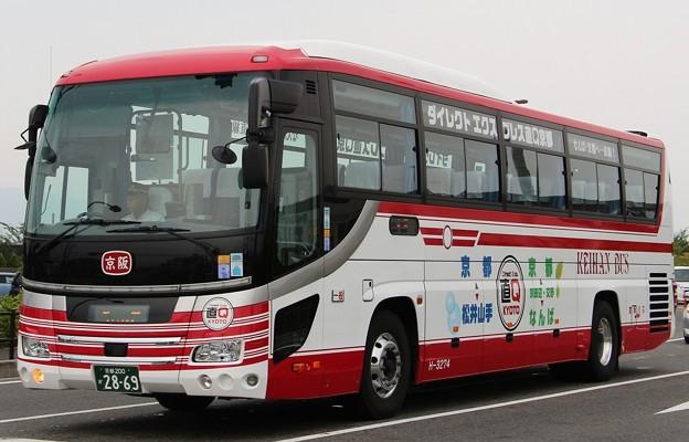 京阪バス 急行バス「ダイレクトエクスプレス直Q京都号」    (ハイデッカー)